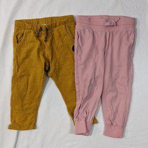 2 pc Toddler Joggers H&M, Zara Sz 2-3T